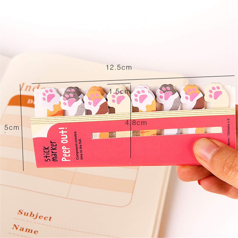 Bebester segnalibri segnalibri per ufficio e scuola Sheep foglietti adesivi segnalibri adesivi carini foglietti adesivi segnalibri adesivi con animali dei cartoni animati