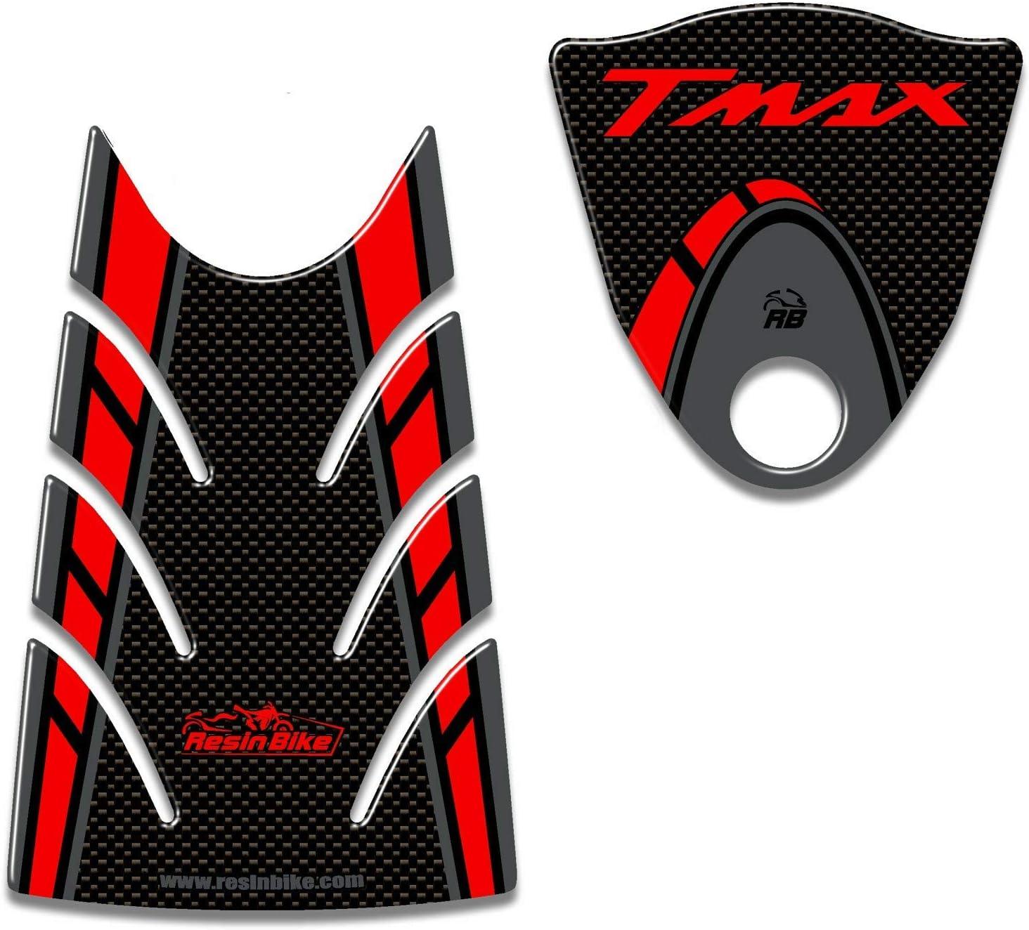 Red Heinmo Motorcycle Street Dirt bike Piquets de pied pour Yamaha Tmax 500 T-Max 530 Mt07 Mt09