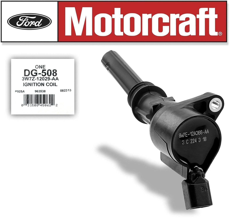 8 MOTORCRAFT IGNITION COIL DG508 FORD 4.6L 5.4L 6.8L V8 V10 ENGINE DG508-3W7Z12029AA