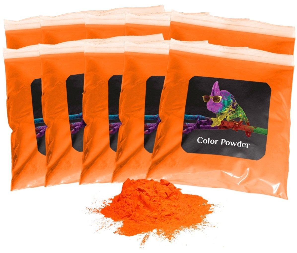 Holi Powder 10pk of 1lb. Orange