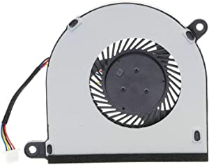 CAQL New CPU Cooling Fan for Dell Inspiron 13-5368 13-5378 13-5379 13-7368 13-7378 13-7379 13-7000 Series 15-5568 15-7579 7368 7569 P58F, P/N: 31TPT 031TPT, (4-Wires) 4-pins Connector