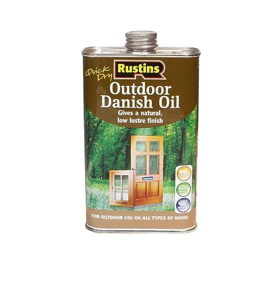 5 opinioni per Rustins- Olio danese per legno da esterno, 1 L