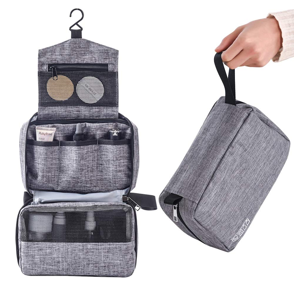 Hanging Travel Toiletry Multifunction Waterproof Cosmetic Bag Portable Organizer Makeup Bag for Women and Girls