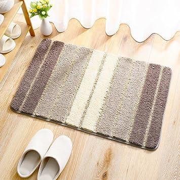 Amazon.com : JDLDJYHDFLHE Bathroom mats [Absorbent] Bedroom Door mat Entrance Carpet Bathroom Non-Slip mats Foot pad Living Room Small Carpet-C ...