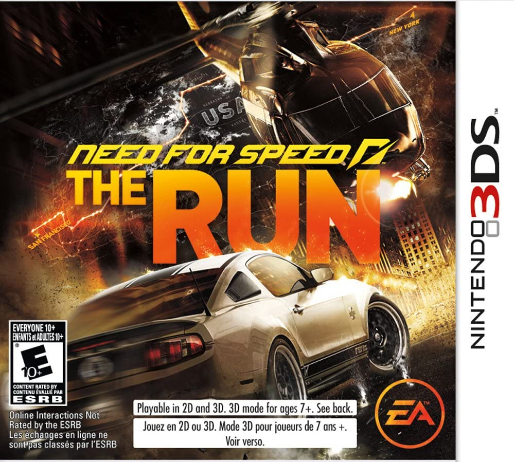 Amazon com: Need for Speed: The Run - Nintendo 3DS: Video Games