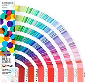 Pantone Plus Series Extended Gamut Guide GG7000 1,729 Spot Colors, New
