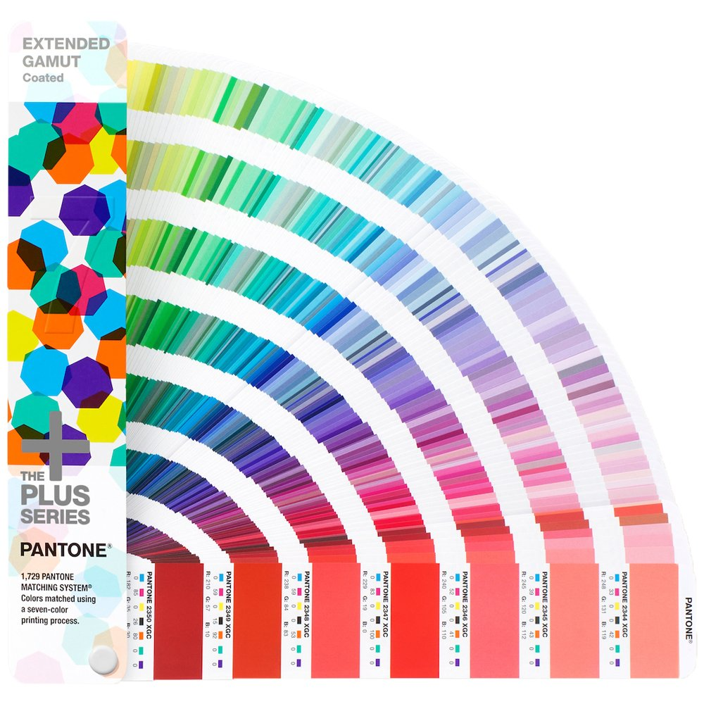 Pantone GG7000 Extended Gamut Guide, Plus Series