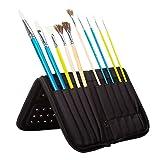 MEEDEN 15 X 10.5 Inch Mesh Paint Brushes Case