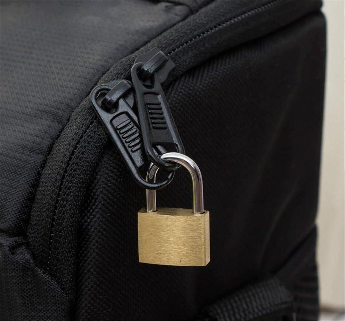 Godagoda 22MM Inner Whole Copper Color Plastic Cover Padlock Student Bag Lock Diary Lock Small Lock;1pcs