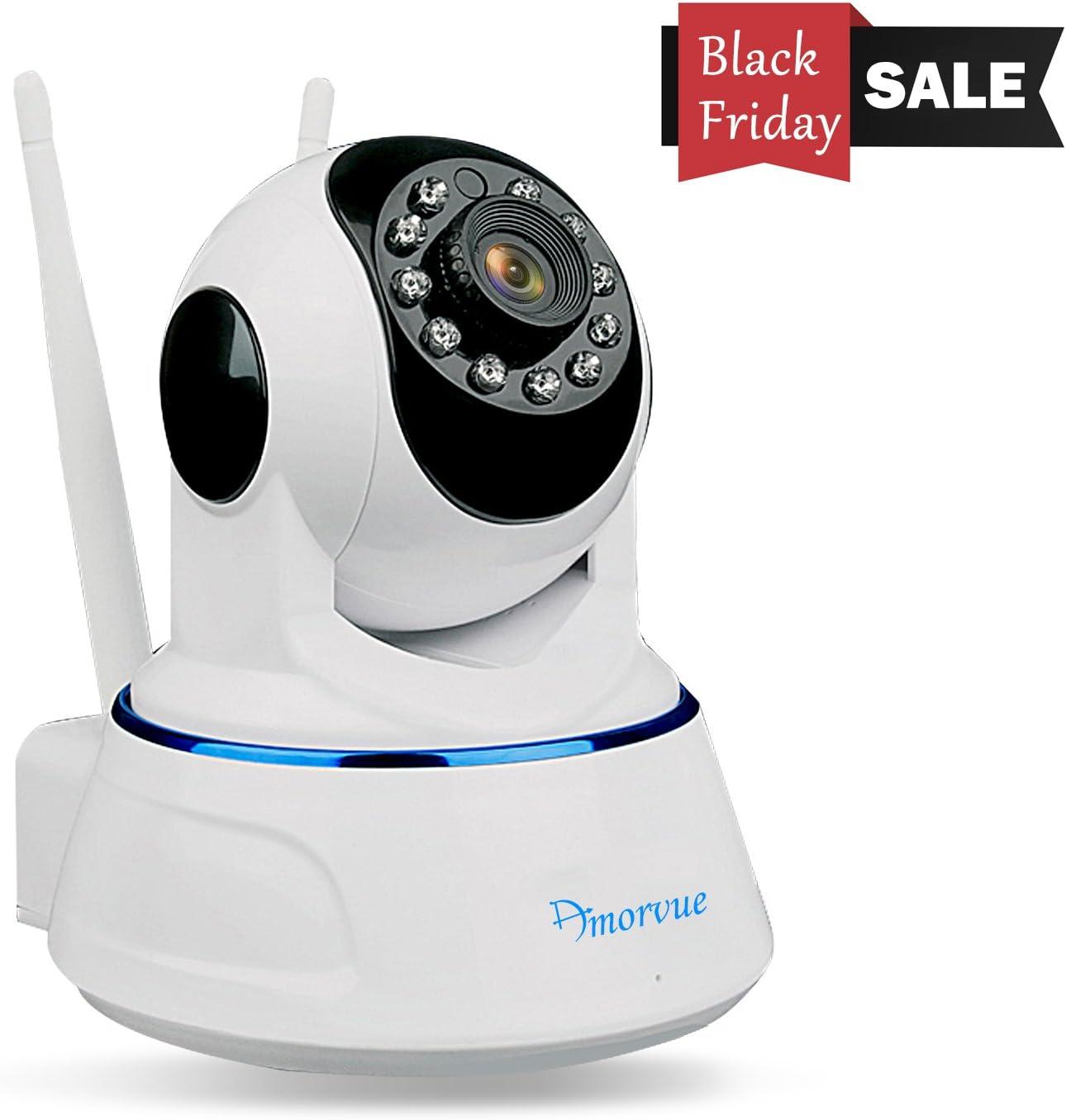Amorvue 720p Security IP Camera, Day