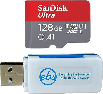 Amazon.com: SanDisk SDXC Micro Ultra - Tarjeta de memoria ...