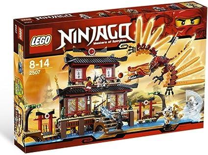 Amazon.com: Templo del fuego Ninjago 2507 de LEGO: Toys & Games