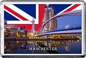 GIFTSCITY MANCHESTER FRIDGE MAGNET THE CITY OF UNITED KINGDOM REFRIGERATOR MAGNET