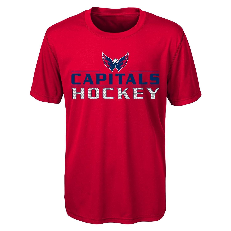 熱い販売 NHL Capitalsパフォーマンス半袖Tee NHL Xl(18) Washington Washington Xl(18) Capitals B01LZFR3X2, 黒だし、おかかのおくだ:38c00817 --- senas.4x4.lt