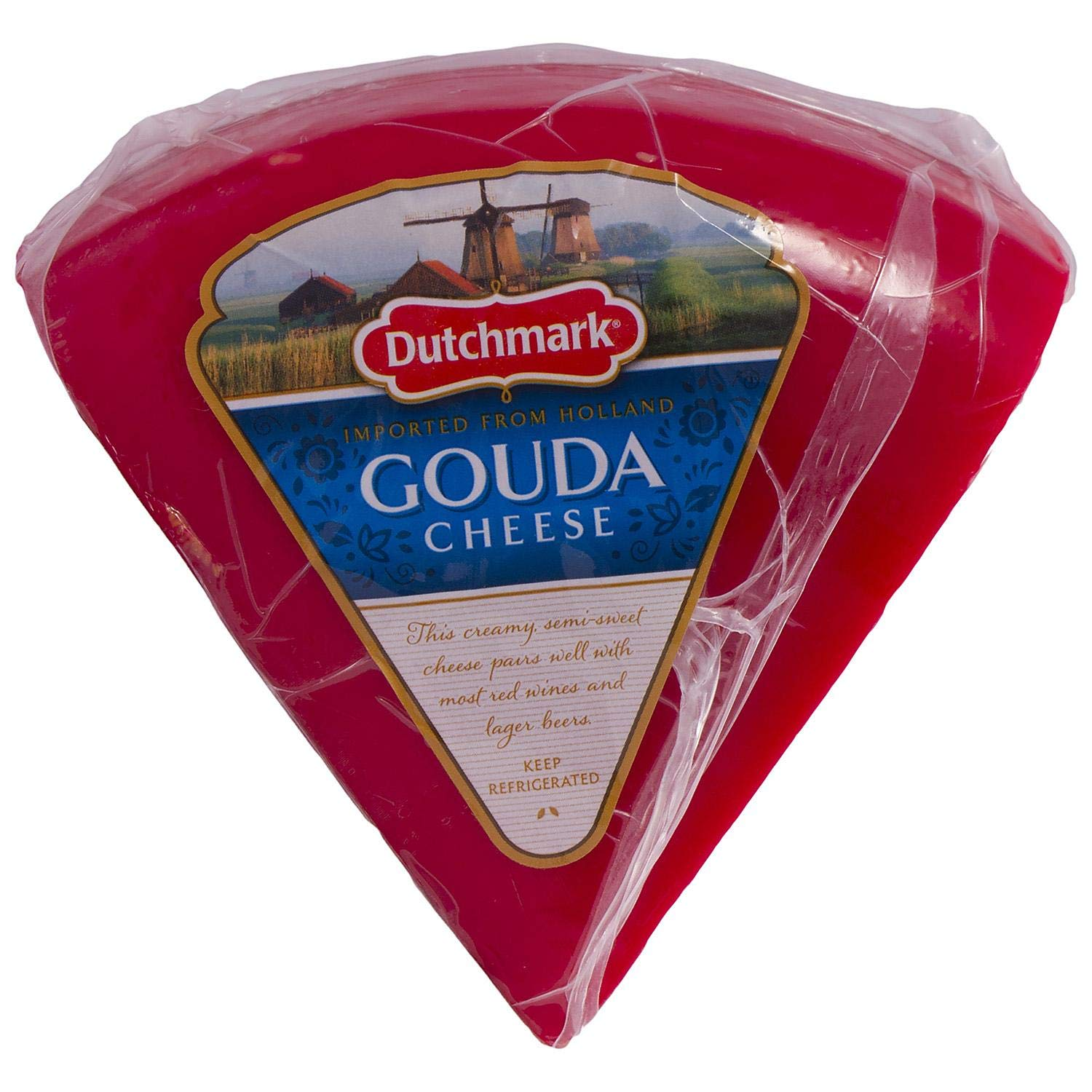 Evaxo Red Wax Gouda Cheese (Priced Per Pound) - 1-3lbs