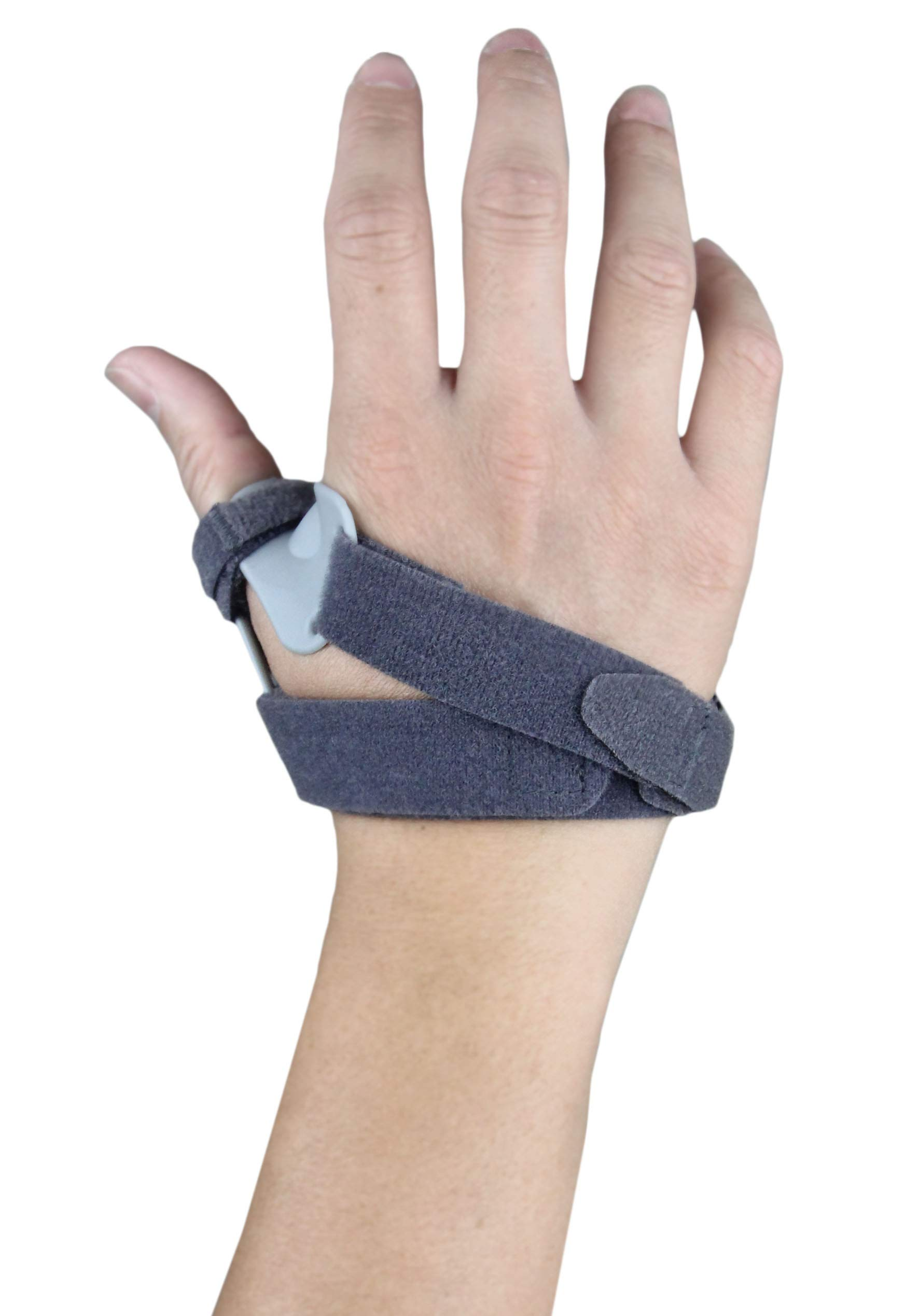 CMC Joint Thumb Arthritis Brace - Restriction Stabilizing Splint for Osteoarthritis and Other Thumb Pain Relief - Medium - Left Hand by MARS WELLNESS (Image #2)
