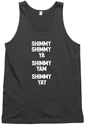 8f76ef928eb489 Daytripper Clothing Shimmy Shimmy Ya Mens Womens Unisex Vest Tank Top   Amazon.co.uk  Clothing
