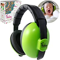 Fridaybaby Adjustable Noise Cancelling Baby Ear Muffs (Green)