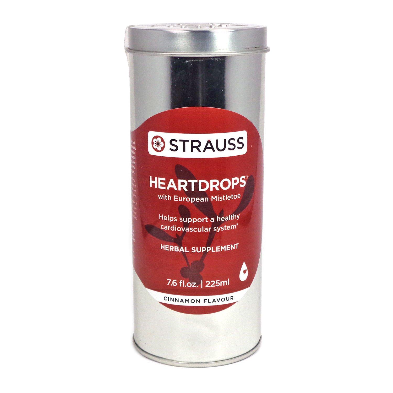 Strauss Heartdrops (Cinnamon, 7.6 fl. oz. | 225 ml) by Strauss Naturals