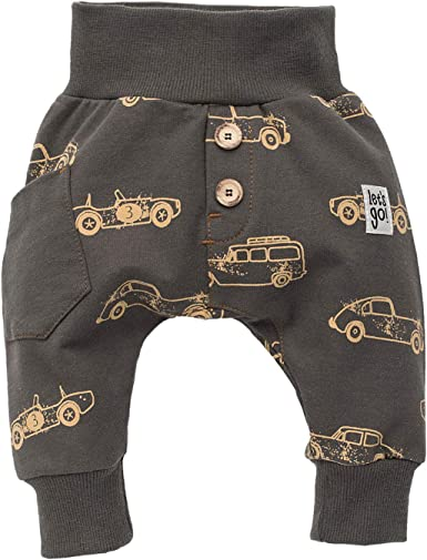 Bears Club Pinokio Pants Baby Boys Trousers Baggy Harem Pump Pants Black Brown 100/% Cotton Child 62 68 74 80 86 92 98 104 cm