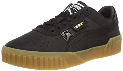 55db873c99 Amazon.com   Puma Women's Cali Nubuck WN's Low-Top Sneakers, Black ...