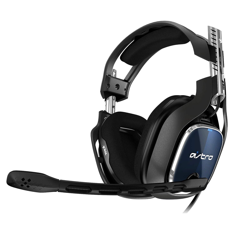 ASTRO Gaming - 939-001830 - A40 TR 4e Génération, Casque PC Filaire, également Compatible Mac, PS4, Xbox One, Switch - Noir/Rouge