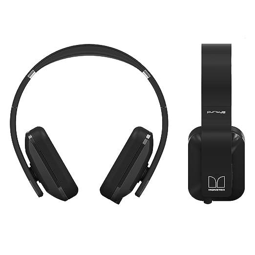 Nokia BH-940 Purity Pro - Auriculares supraurales inalámbricos o con cable, color negro: Amazon.es: Electrónica
