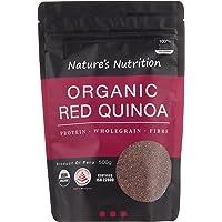 Nature's Nutrition Organic Red Quinoa, 500g