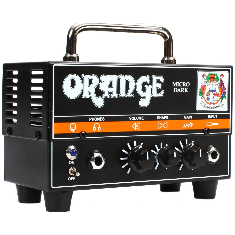Orange Micro Dark Terror 20 Watt Tube Preamp/ Solid State Hybrid Amp Head by Orange