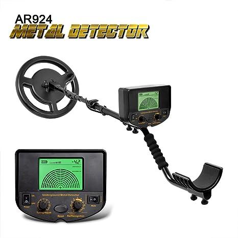 shuogou detector de metales subterráneo, pantalla LCD AR924 Gold Digger Treasure Hunter detectar profundidad 1