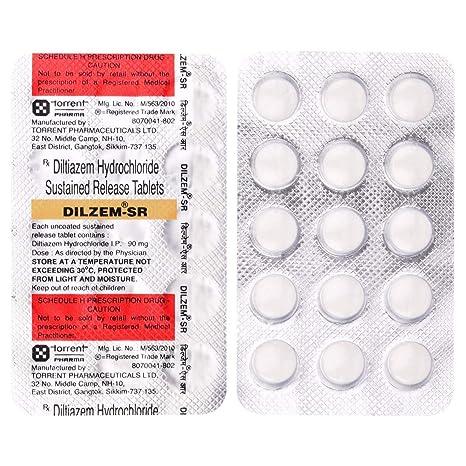 Dilzem SR - Blister Pack of 15 Tablets: Amazon.in