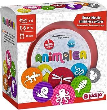 Lúdilo Animalea, Encuentra tríos, mesa en familia, juego educativo para desarrollar concentración (PERCEPCIÓN VISUAL): Amazon.es: Juguetes y juegos