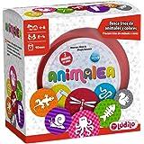 Lúdilo Animalea, Encuentra tríos, Mesa en Familia, Juego Educativo para desarrollar concentración, Color (PERCEPCIÓN Visual