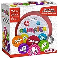 Lúdilo Animalea, Encuentra tríos, mesa en familia, juego educativo para desarrollar concentración (PERCEPCIÓN VISUAL)