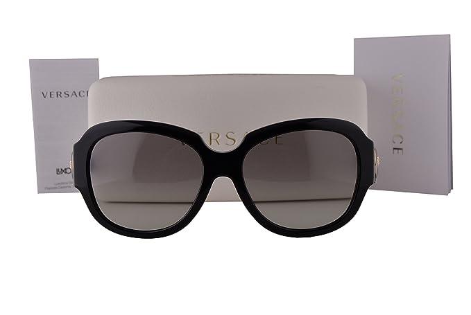 0fa3630d1649 Image Unavailable. Image not available for. Colour: Versace VE4304 Sunglasses  Black w/Gray Gradient ...