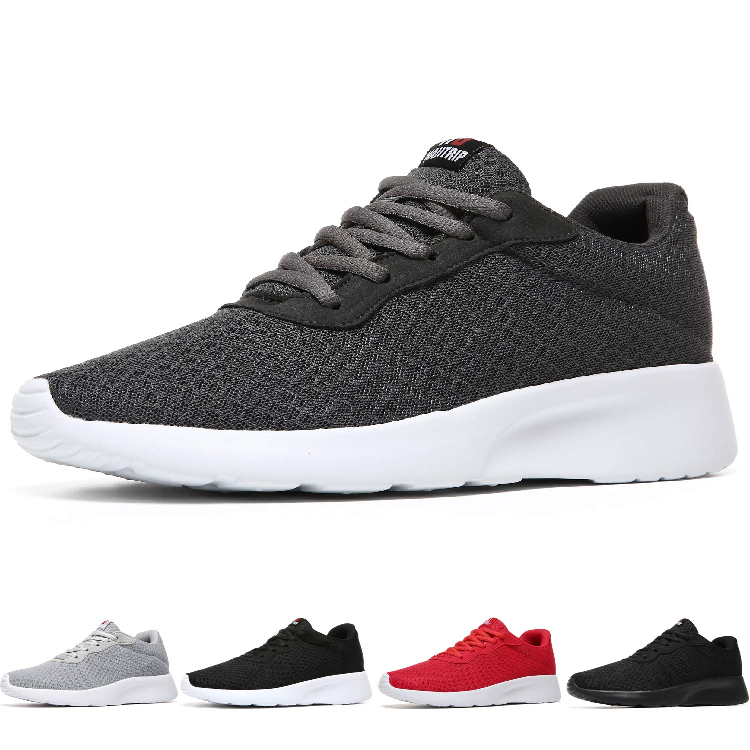 MAIITRIP Men's Running Shoes Sport Athletic Sneakers,CharcoalGrey/Gray,Size 7