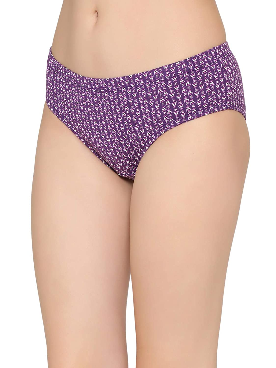 15bdad918583 Clovia Cotton Mid Waist Printed Hipster Panty with Inner Elastic: Amazon.in:  Clothing & Accessories