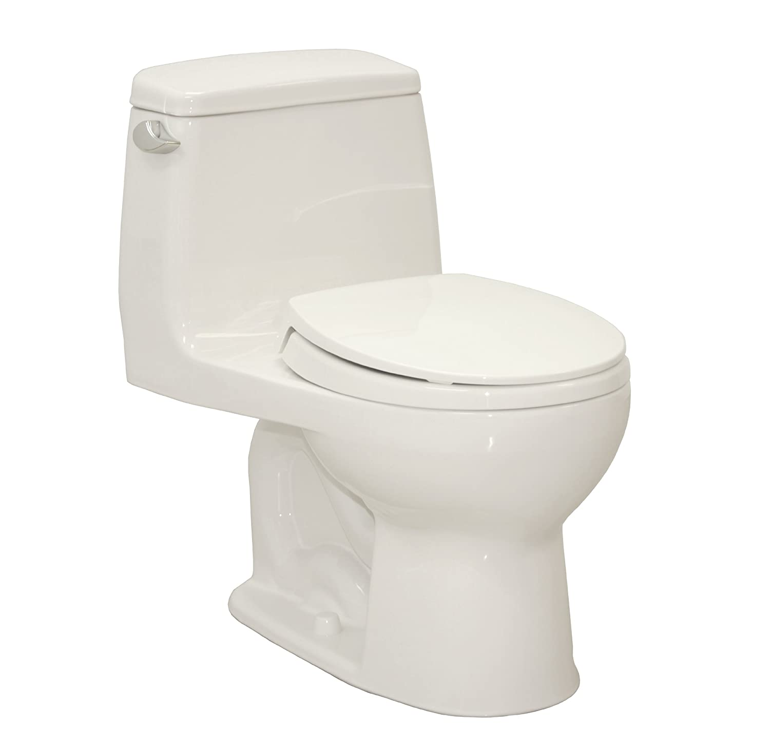 Very Compact Round Front Toilet For Small Bathroom
