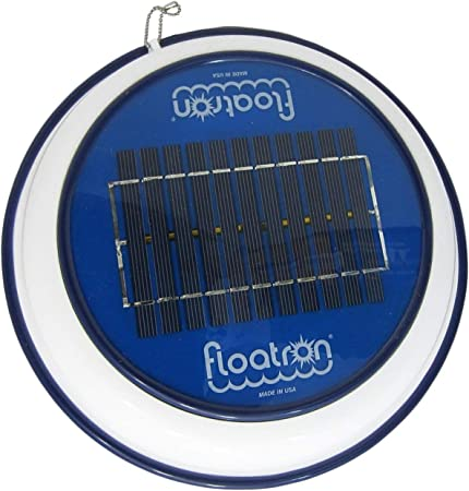side facing floatron solar powered pool cleaner