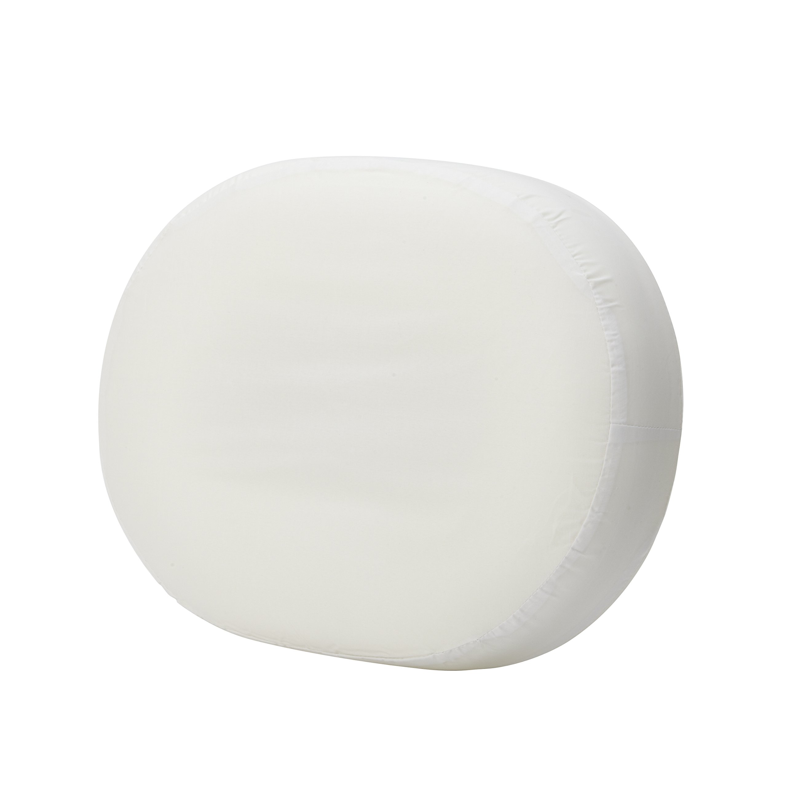 DMI 14-inch Molded Foam Ring Donut Seat Cushion Pillow for Hemorrhoids, Back Pain, White