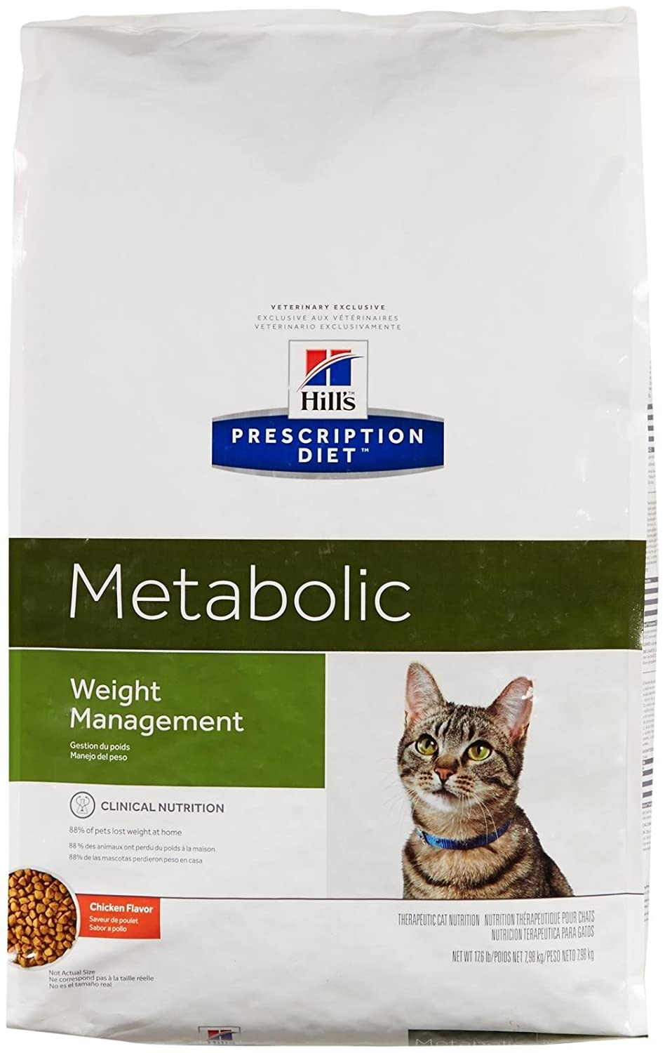 Amazon.com : Hills Prescription Diet Feline Metabolic Advanced Weight Solution Dry Cat Food, 17.6-lb bag : Pet Food : Pet Supplies