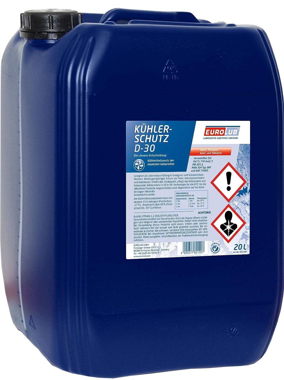 EUROLUB KÜ HLERSCHUTZ D-30, 20 Liter EUROLUB GmbH 821020