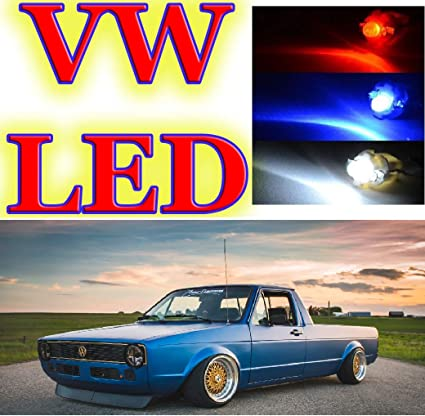 V W Golf Rabbit Mk1 Caddy 1979-1996 - Bombillas LED de ...