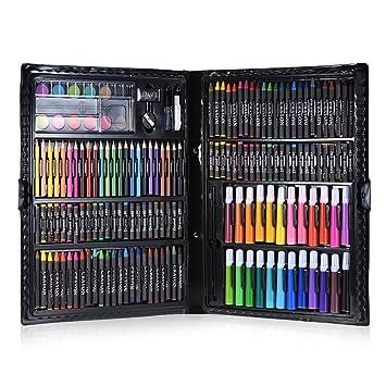 Amazon.com : Walmeck Color Pencils, 168pcs Drawing Pen Art ...