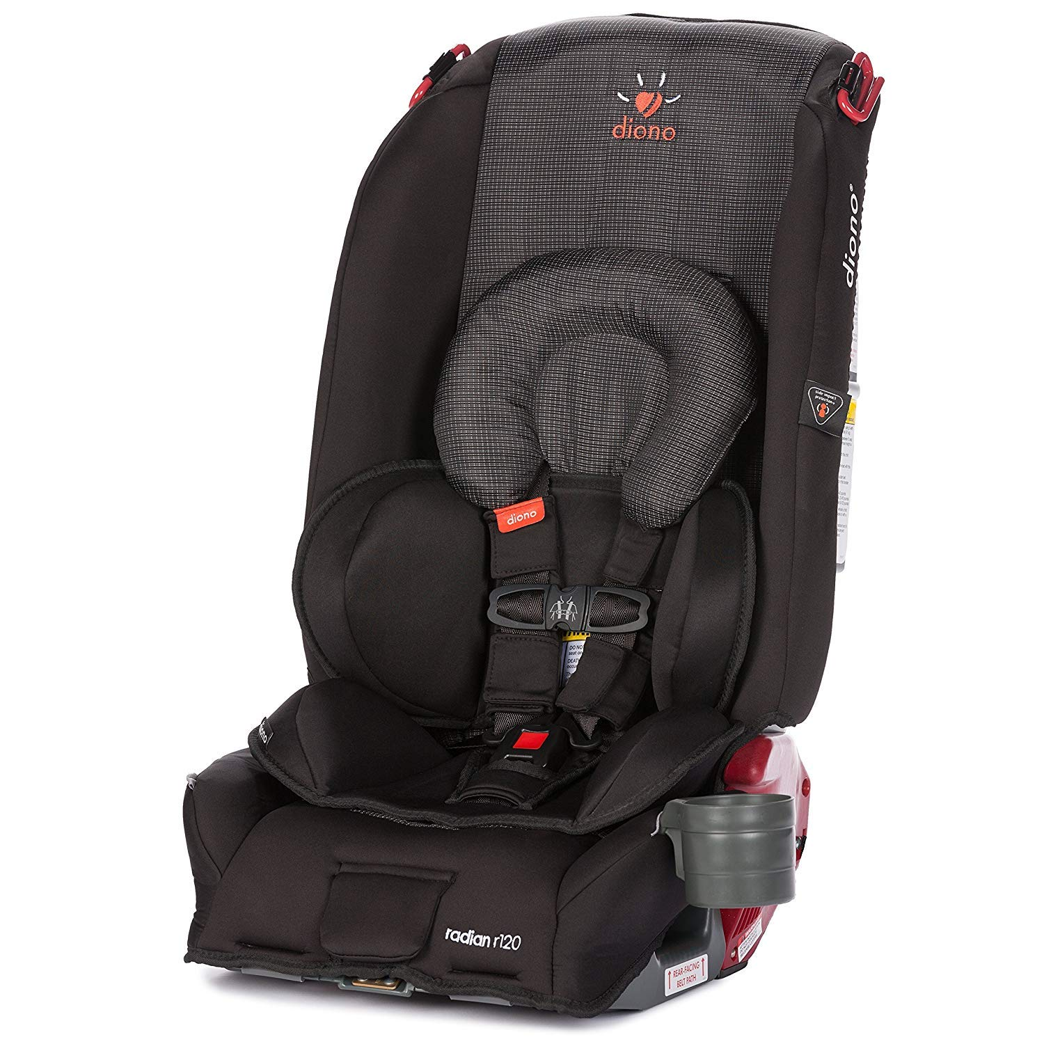 Amazon Diono Radian R120 All in e Convertible Car Seat For