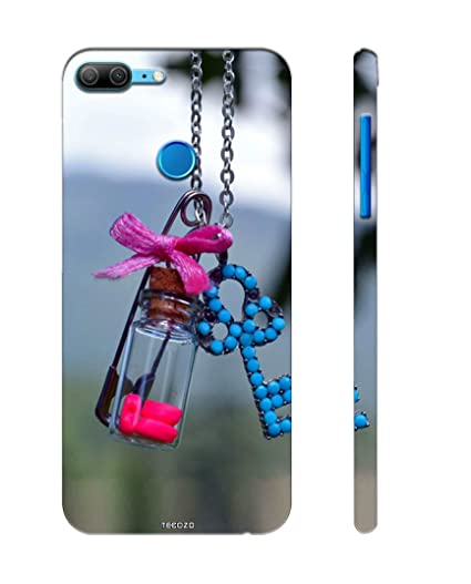 new style 43cf4 2720b PICWIK® Designer Printed Back Cover/Hard Case for Honor 9 Lite (Girls  Locket Design/Pattern) - Multicolor - G481