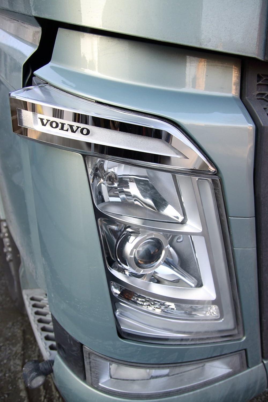 Embellecedor para el lateral de los faros del Volvo FH4, de acero inoxidable: Amazon.es: Coche y moto