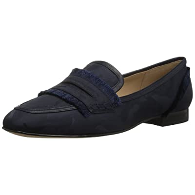 Brand - The Fix Women's Daphne Satin Fringe Loafer Flat: Shoes