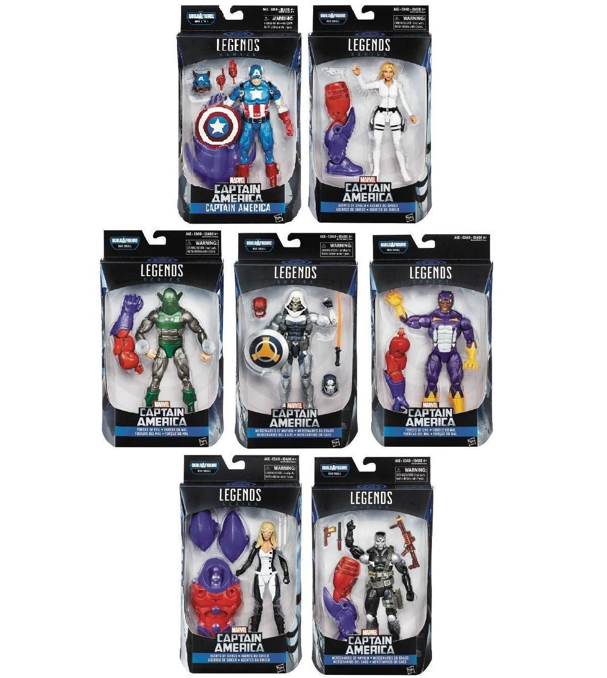 Marvel Legends Series - Build A Fig. Capt. America Hasbro