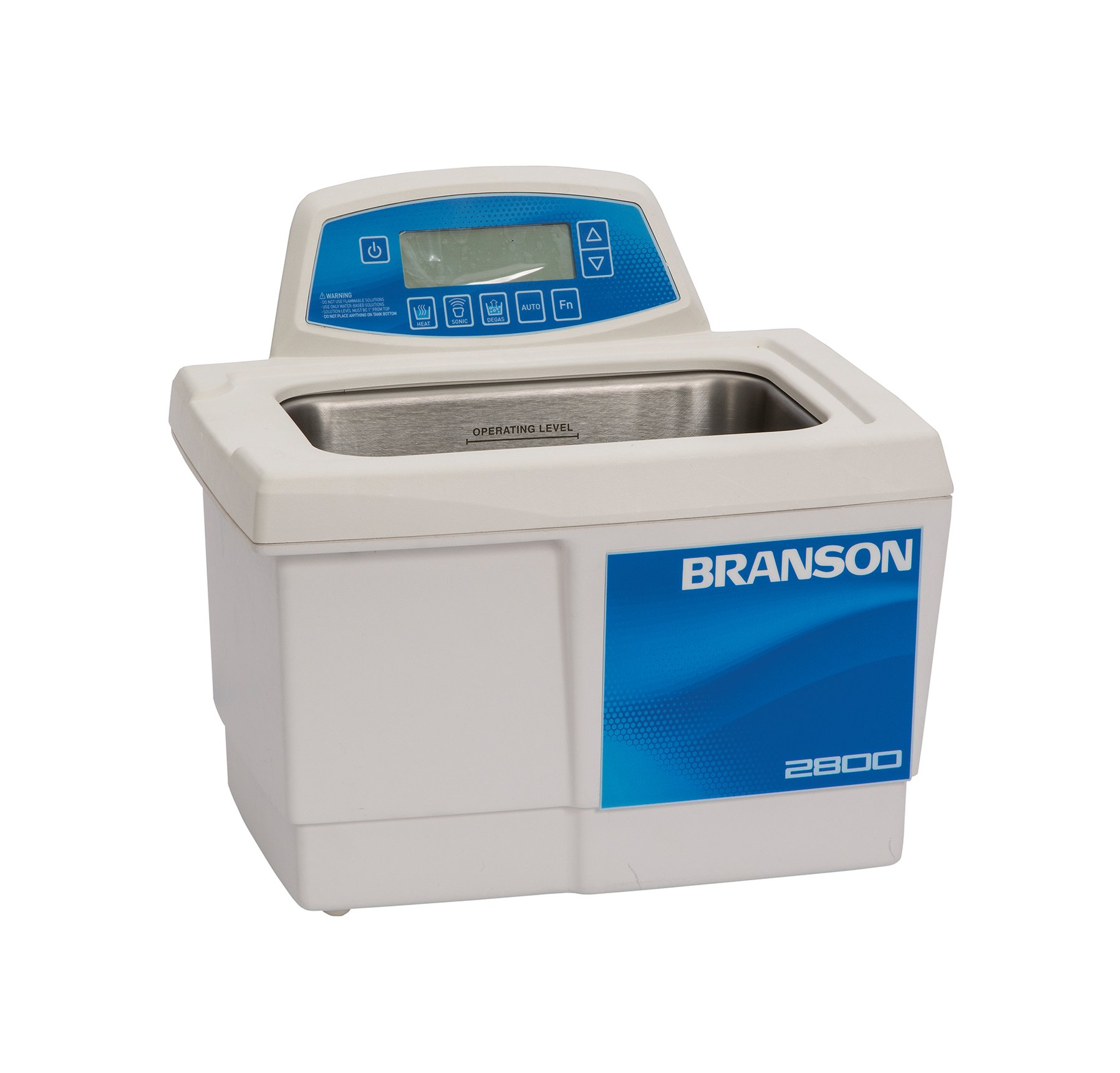 Branson CPX-952-218R Series CPXH Digital Cleaning Bath with Digital Timer and Heater, 0.75 Gallons Capacity, 120V